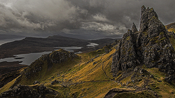View from the Storr